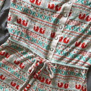 Wildfox Christmas PJ jumper